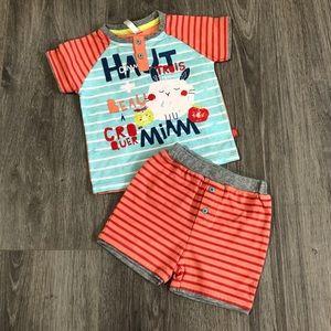 Souris mini baby boy kit
